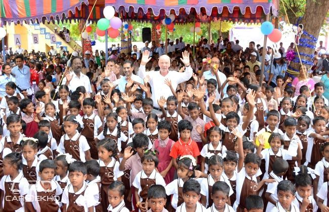 Ford India celebrates Global Week of Caring by commencing Happy Schools Program