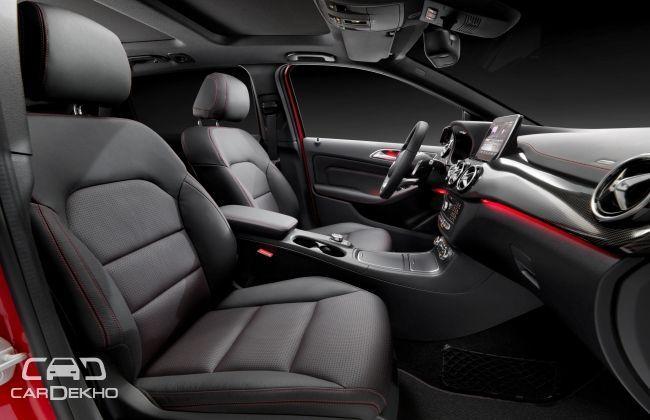 Mercedes Benz B Class Facelift