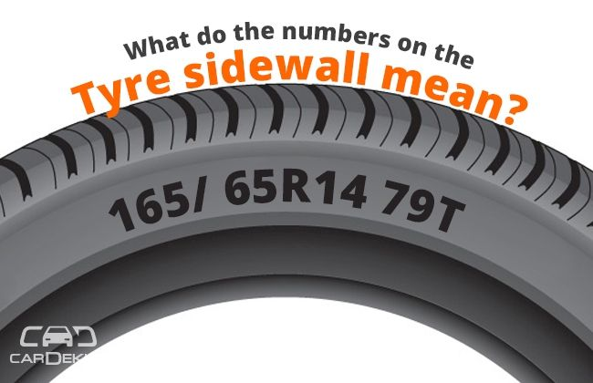 What Do The Numbers On Tires Mean >> What do the numbers on the tyre sidewall mean? | CarDekho.com