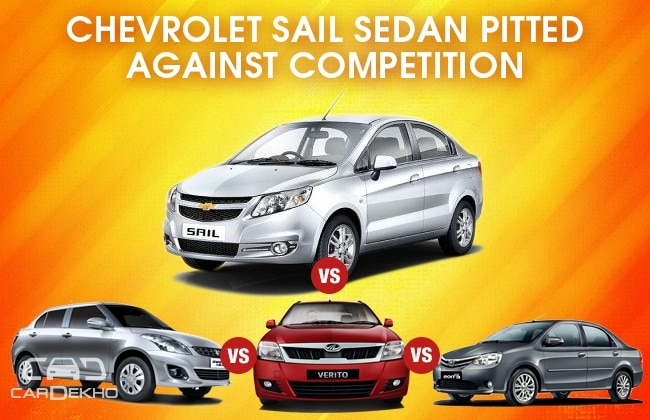Competition Check: New Chevrolet Sail vs the Rivals