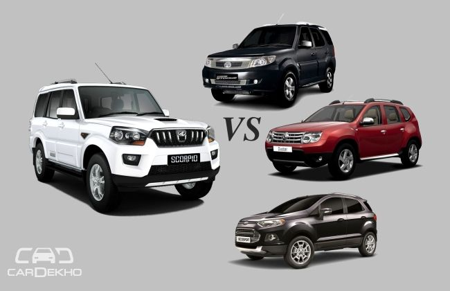 Competition Check: Mahindra Scorpio vs the Rivals