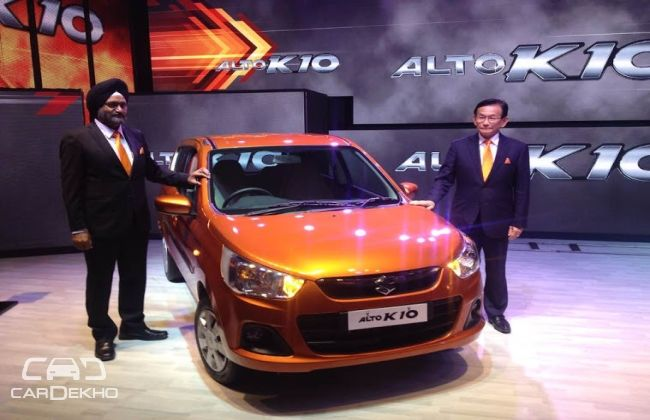Maruti Suzuki Alto K10 Launched