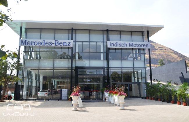 Mercedes-Benz India opens a new dealership in Nashik