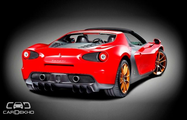 Ferrari Sergio is super exclusive open-top celebrating Pininfarina collaboration