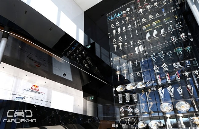 60 trophies stolen in burglary at Red Bull Factory