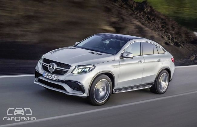 Mercedes AMG GLE63 S Coupe