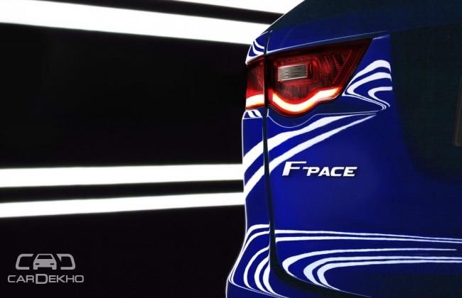Jaguar SUV F Pace