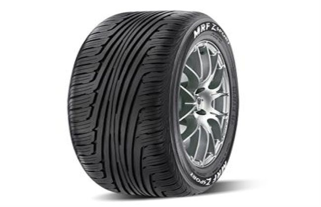 MRF launches special edition tyre for mid and premium segment cars in India