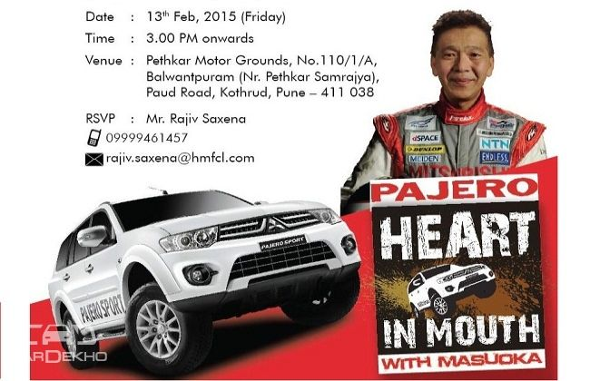 Mitsubishi Heart-in-Mouth rally in Pune; Montero to launch soon