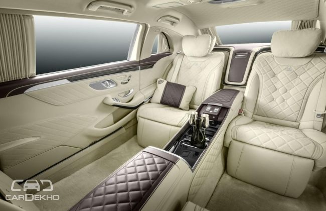 Mercedes Benz Maybach Pullman S 600