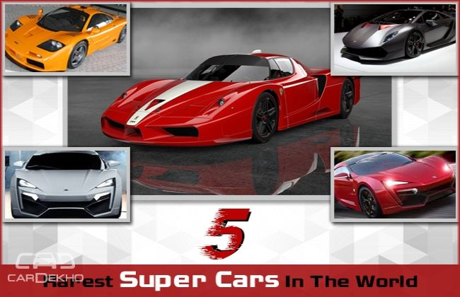 Rarest Supercars In The World Features Cardekho Com