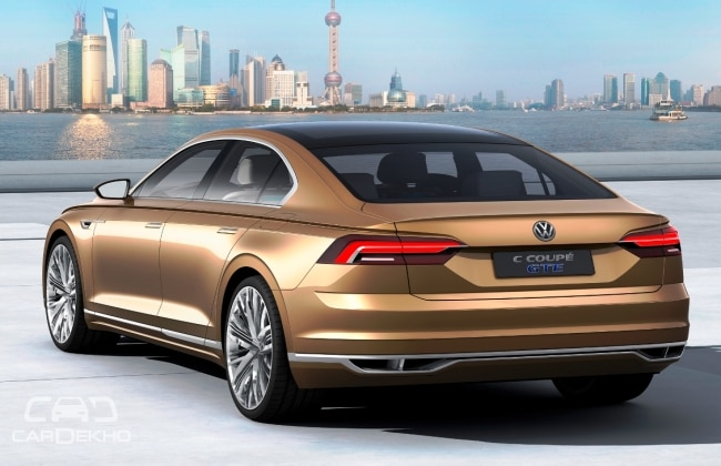 volkswagen c coupe gte points to a new model between. Black Bedroom Furniture Sets. Home Design Ideas