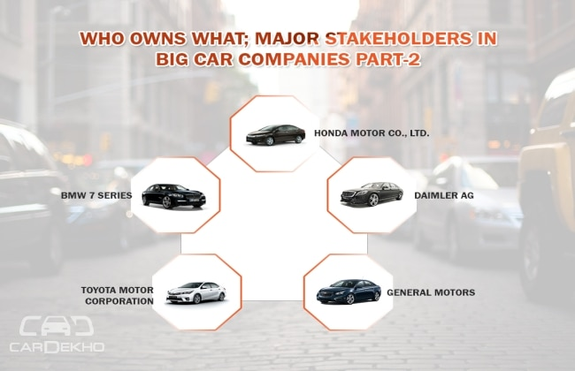 Who Owns What Major Stakeholders In Big Car Companies