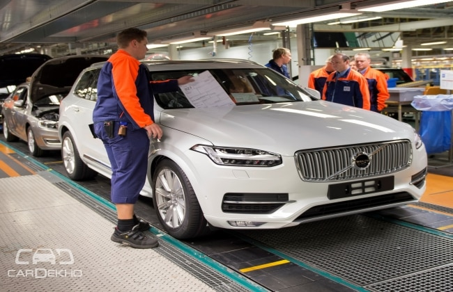 India Bound Volvo Xc90 Receives 30 000 Pre Orders Globally
