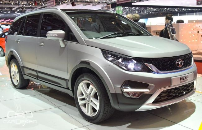 tata hexa interiors spied detailed pictures inside