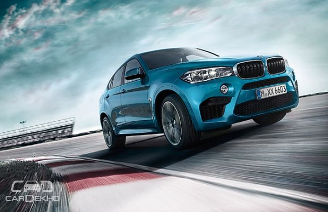 BMW X6M front