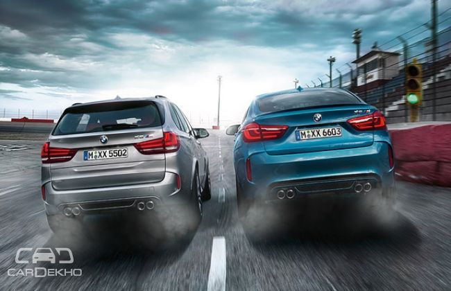 BMW X6M and X5M rear