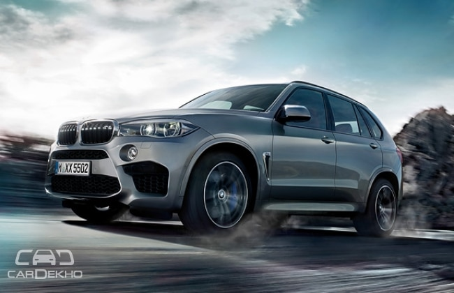 BMW X6M and X5M to be Launched on October 15 - BeFirsTrank