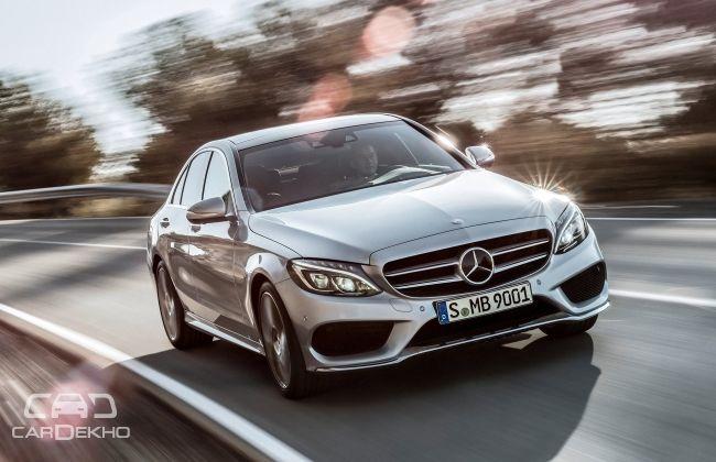 2015 Mercedes Benz C class wallpaper