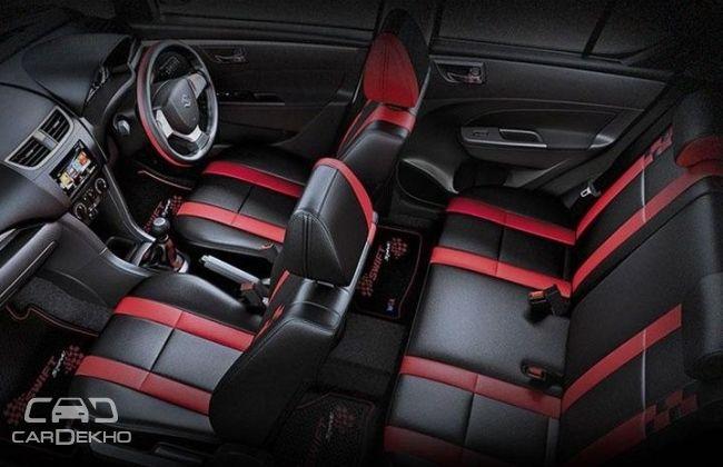 Swift Glory Edition interior pics