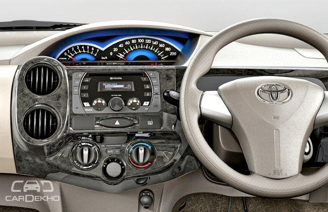 Toyota Etios Liva Dashboard
