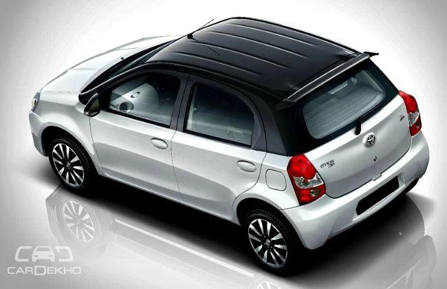 Toyota Etios Liva White