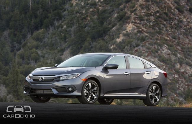 2016 honda civic u s prices announced cardekho