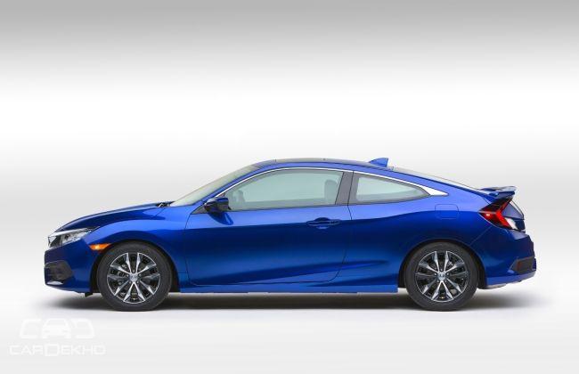 2016 Honda Civic Coupe side