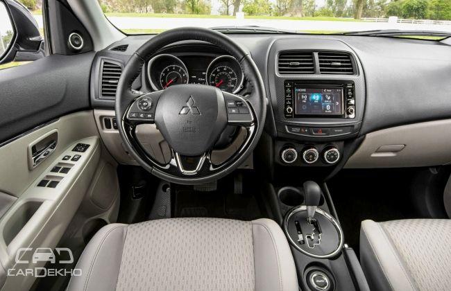 Mitsubishi Pajero Sport interior View