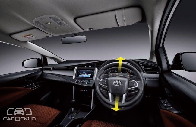 2016 Toyota Innova Interiors