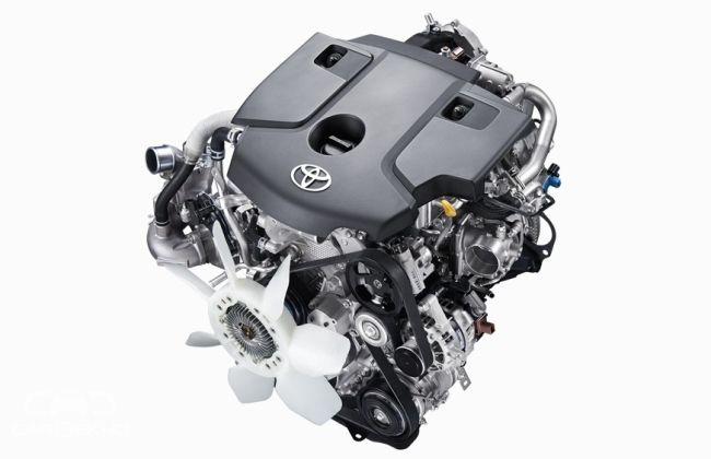 2 GD FTV 4 Cylinder In-Line, 16 valve DOHC engine