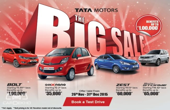 Tata Big Sale