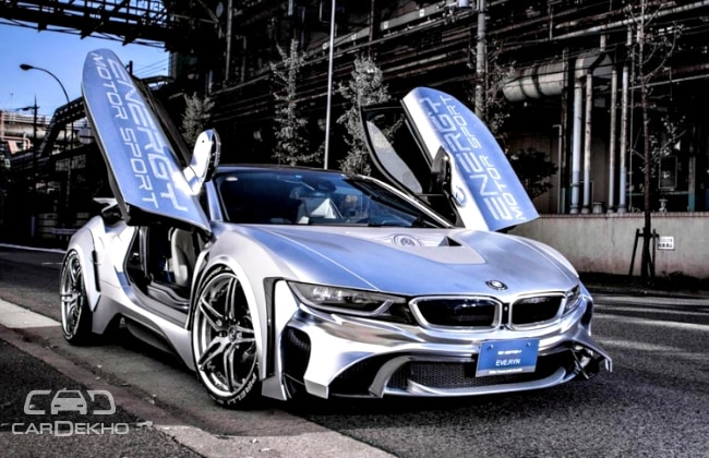 Bmw I8 Cyber Edition Images Released Business Standard News