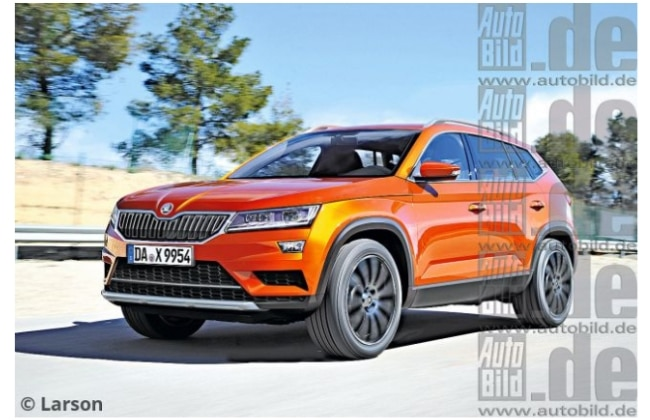 Skoda Kodiak Might be the Name of Czech Automakers New SUV | CarDekho.com