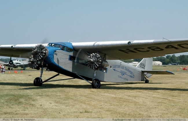 Ford's First Aircraft Trimotor