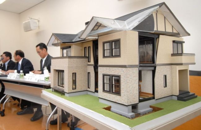 Toyota Builds Houses