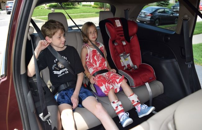 Child seats and kids