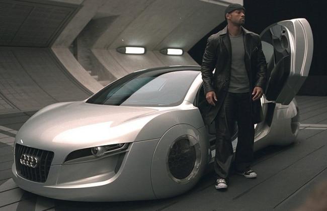 i-Robots Self Driving Audi Concept