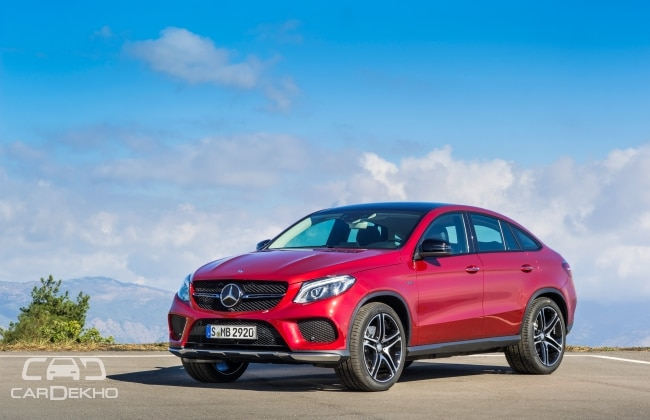 mercedes benz gle 450 amg coupe launched at rs 86 4 lacs. Black Bedroom Furniture Sets. Home Design Ideas