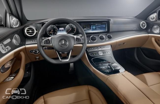 2017 Mercedes-Benz E-CLass (Interior)
