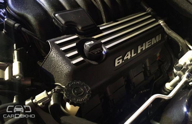 Jeep Grand Cherokee SRT HEMI engine