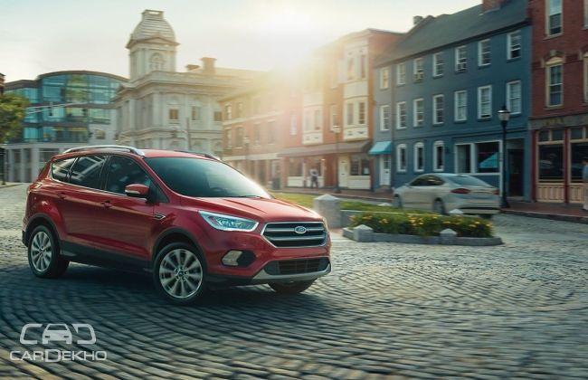 2017 Ford EcoSport Facelift Shows Its Face CarDekhocom