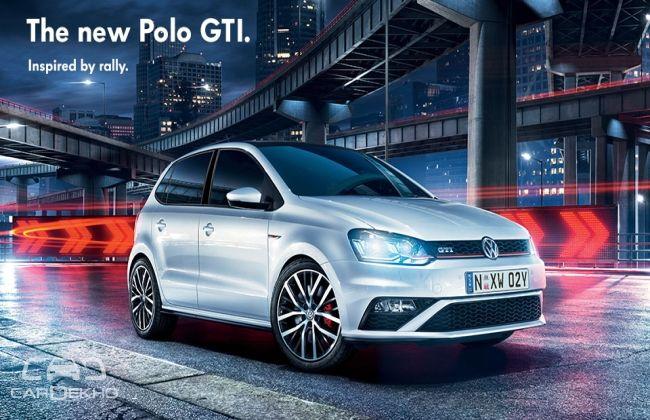 Official! Volkswagen India to Bring Polo GTi At Delhi Auto