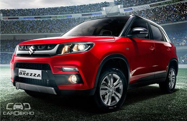 Maruti Suzuki Vitara Brezza (Red)