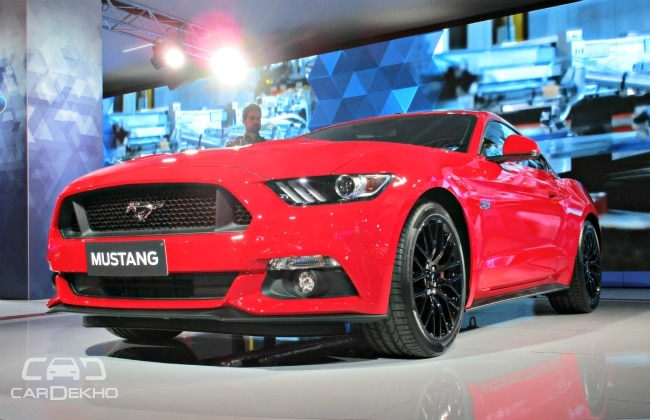 Ford Mustang India Launch On July Business Standard News