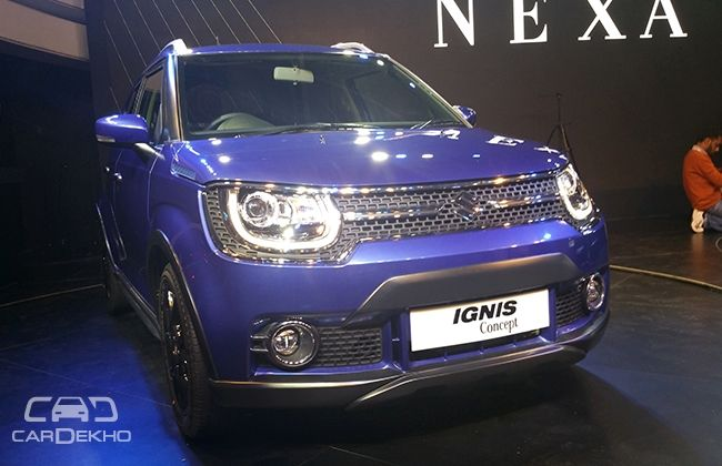 new car launches for diwaliMaruti Suzuki Ignis to Be Launched around Diwali 2016  Business