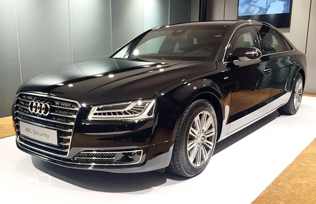 Audi Launches A8 L Security @ Rs. 9.15 Crore