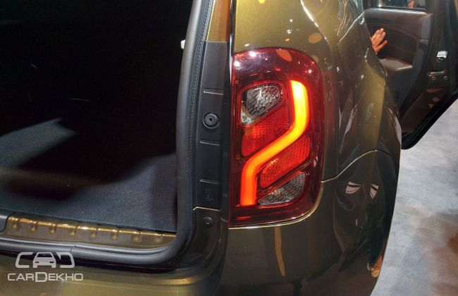 Renault Duster taillamp