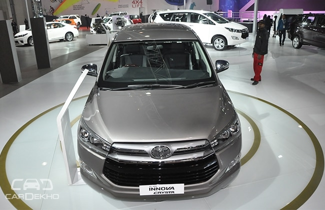 Toyota Innova Crysta Will Be Launched By The End Of May