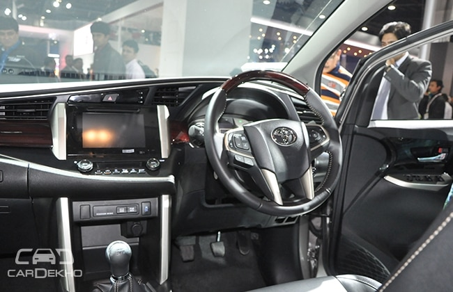 toyota innova crysta bookings open. Black Bedroom Furniture Sets. Home Design Ideas